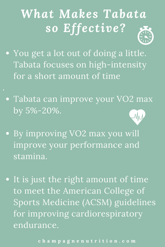 Your Workout Routine Might Need Tabata