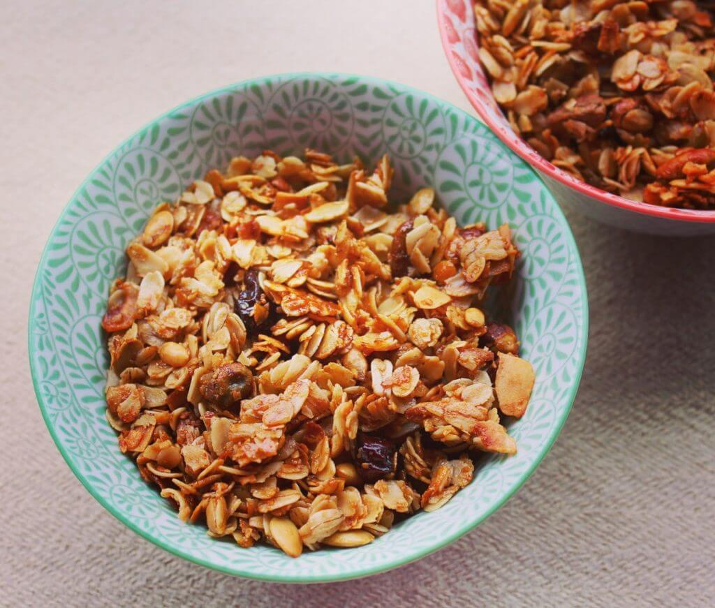 Simple Cherry-Coconut Granola