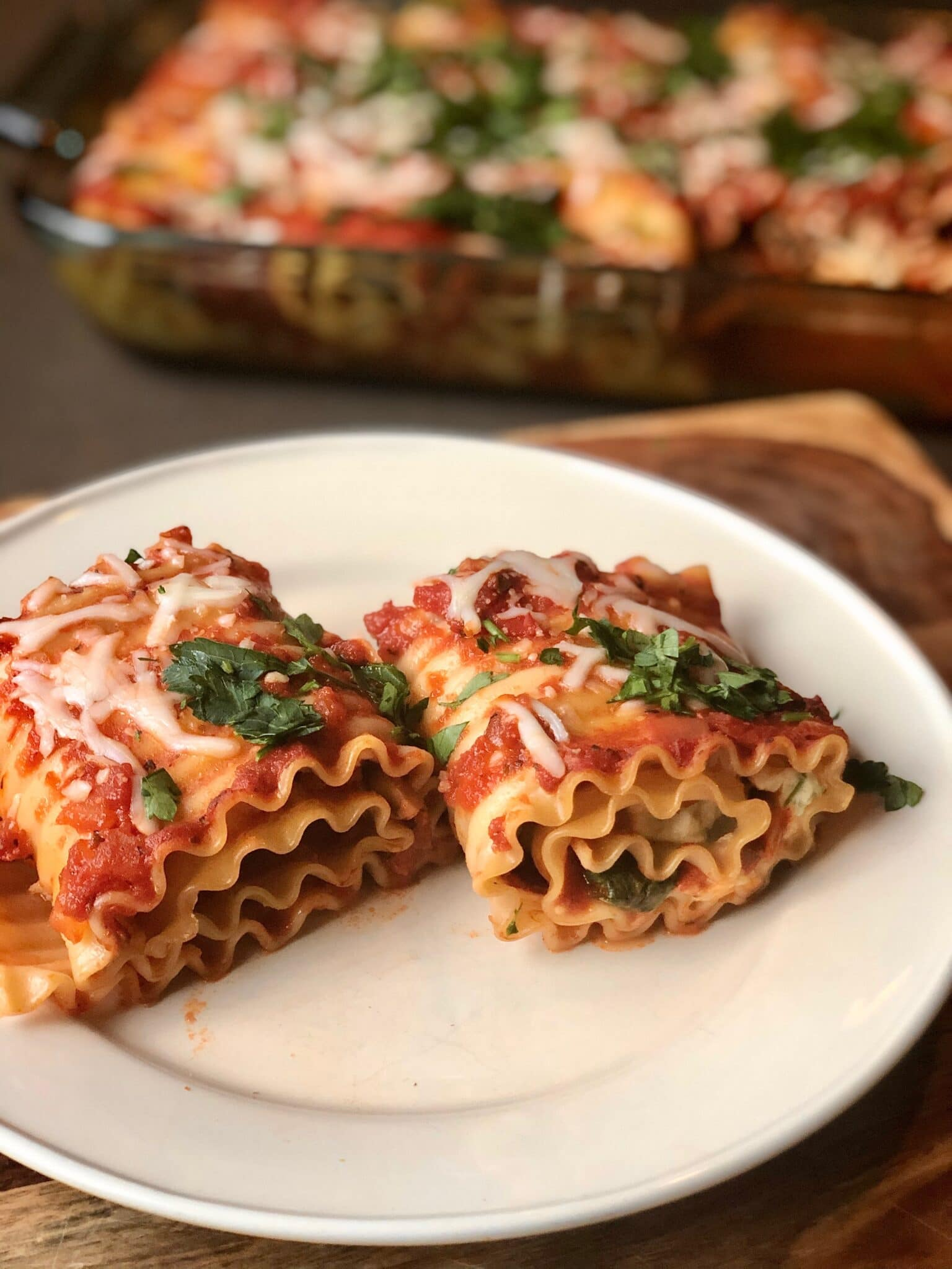 Vegetarian Lasagna Roll Ups For Meal Prep And Popping In The Freezer