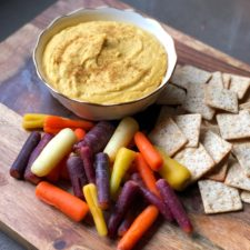 Simple Pumpkin Hummus