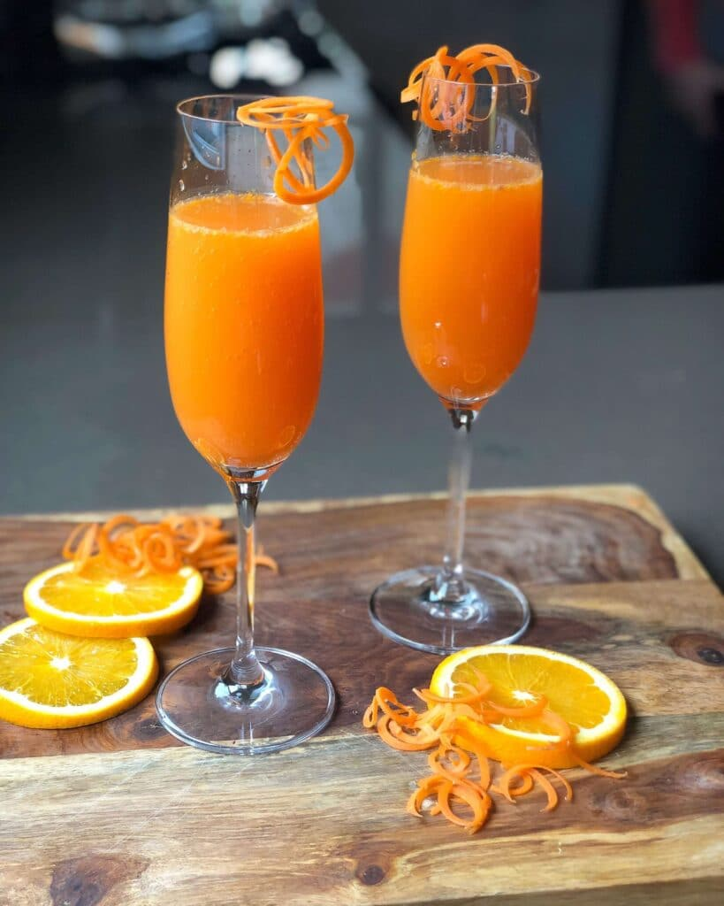 Carrot Ginger Turmeric Mimosa