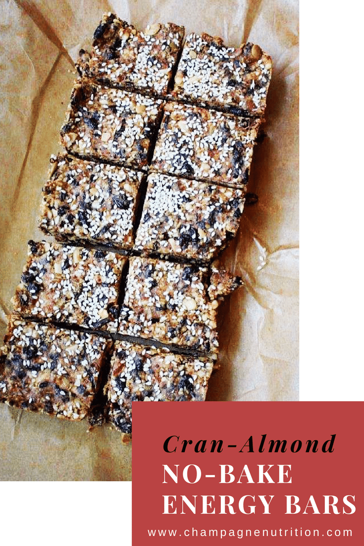 Cran-Almond Energy Bars