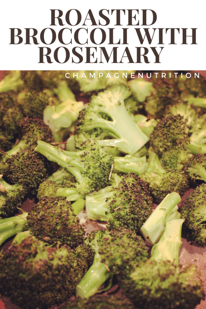 Roasted Broccoli with Rosemary