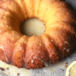 Tequila Glazed Lemon Olive Oil Bundt Cake
