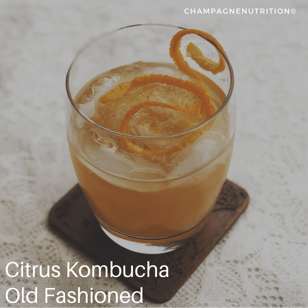 Citrus Kombucha Old Fashioned