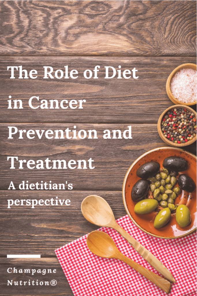 The Role of Diet in Cancer Prevention and Treatment