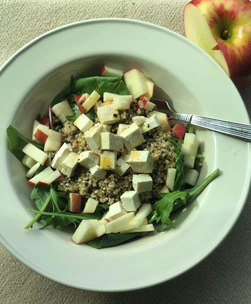 Simple Quinoa Apple Power Bowl