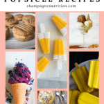 a collection of colorful sweet treats